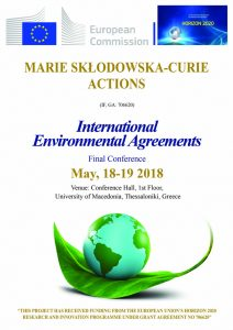 INTERNATIONA ENVIRONMENTAL AGREEMENTS